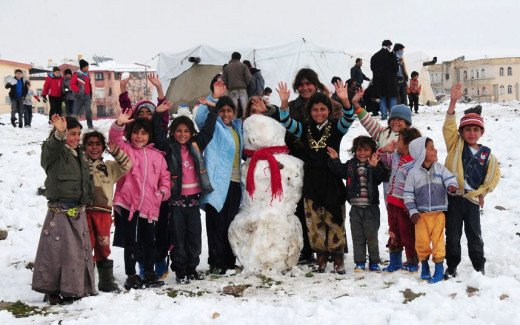 The children find joy in kind gestures and deserve to find more hope in humanity this winter and festive season.