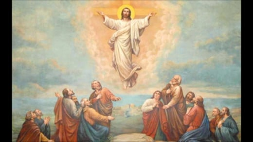 Jesus Ascension to heaven