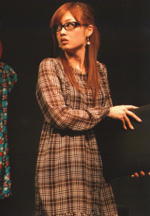 This photo was taken during the performance of Mikoto's Mannequin stage play.