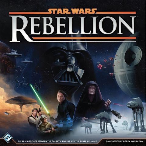 Star Wars: Rebellion game box