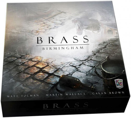 Brass: Birmingham game box