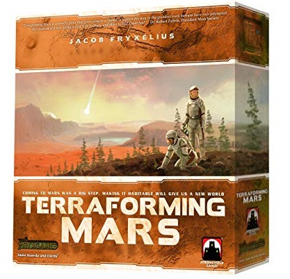 Terraforming Mars game box