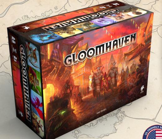 Gloomhaven game box