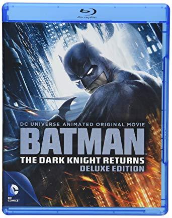 Batman: The Dark Knight Returns Blu-ray cover.
