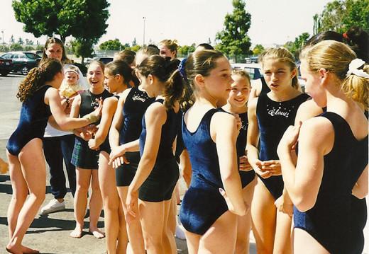 Gymnasts conversations