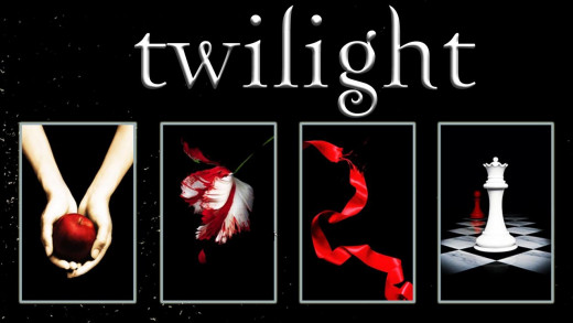 Twilight, New Moon, Eclipse, and Breaking Dawn