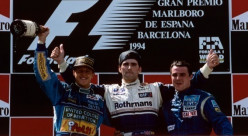 The 1994 Spanish Grand Prix - Schumacher Finishes on Podium Stuck in Fifth Gear