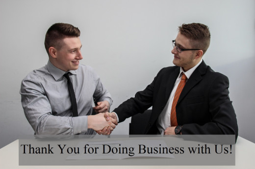 Letting your clients know that you appreciate their business will strengthen your relationship with them.