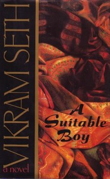 "A Suitable Boy by Vikram Seth is a superlative novel that will make you gasp, cry, and sometimes say ""No effin way"" out loud."