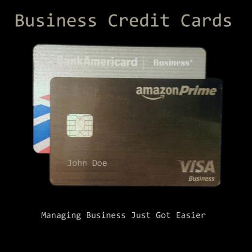 Business Credit Cards - Managing Business Just Got Easier!