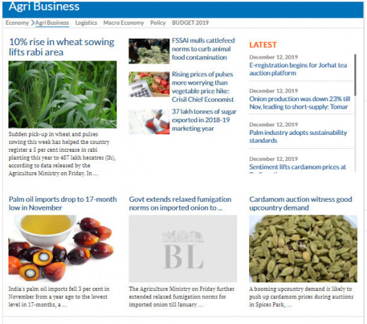 Agribusiness news on the Internet
