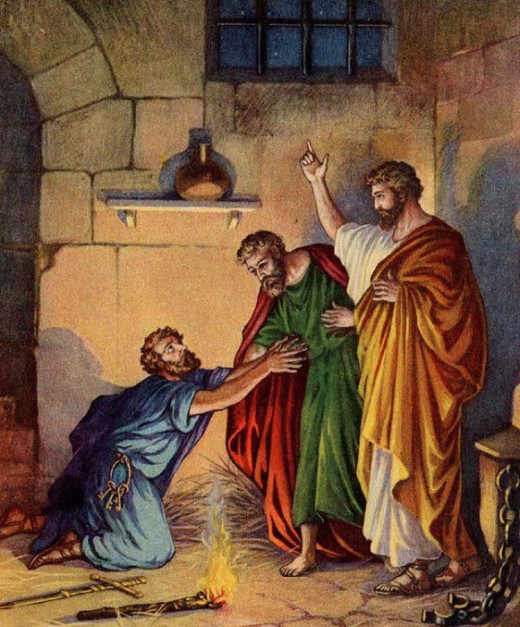 Apostle Paul, Silas and Jailor