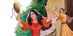 Jephthah's Daughter, a Youth Any Father Could Be Proud Of