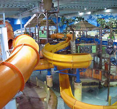 Kalahari resort in Sandusky, Ohio