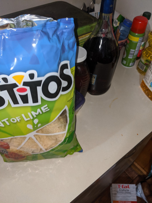 Instead of crackers, use lime tortilla chips