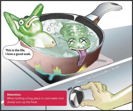 The Tale of the Boiling Frog