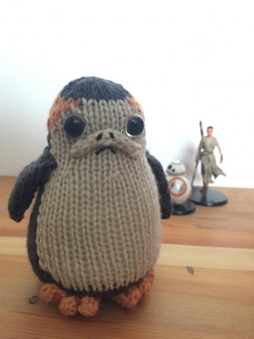 The Porgs are my favorite cuties in the last Star Wars movies.