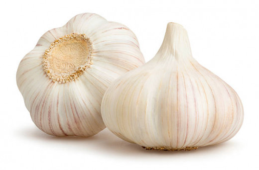 Garlic is a natural antibacterial.