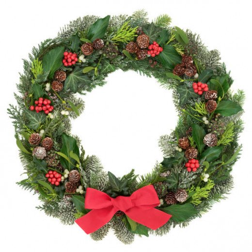 Wreaths can be a simple and fun activity and afford you a variety of possibilities.