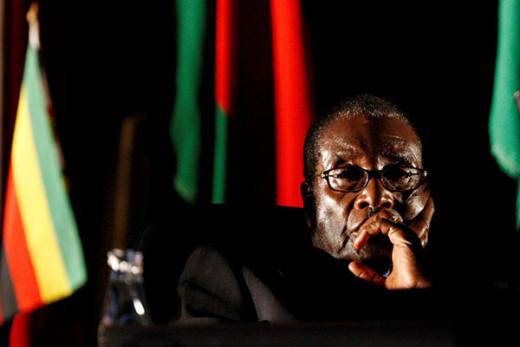 The late former president of Zimbambwe, Robert Gabriel Mugabe.