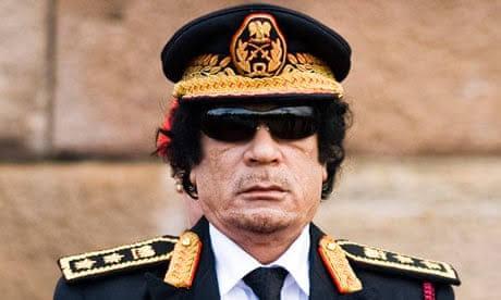 Muammar Al-Gaddafi of Egypt.