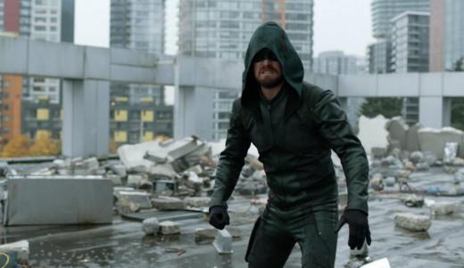 Green Arrow - Shadow Demon Battle