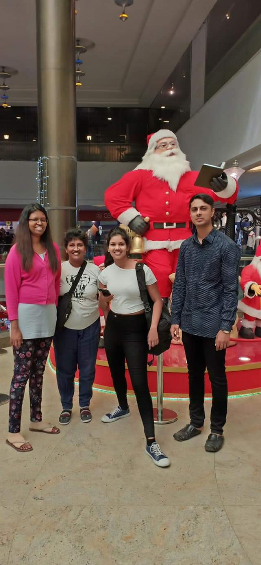 'Orion Mall' Bengaluru (Bangalor ) India on the 20th December 2018 with my Epal Sanjai :)