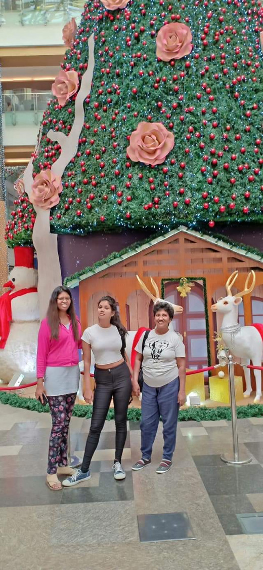 """""""Orion Mall"""" christmas decorations :)"""
