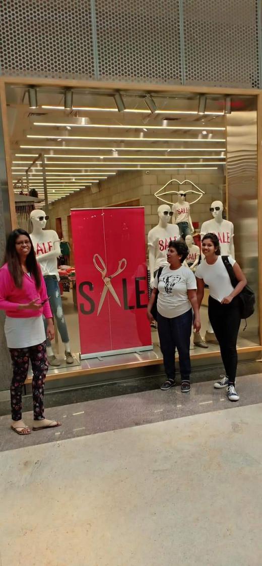 Orion Mall, Bangalor :) Window Shopping :)