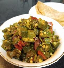 Simple Ladies Finger or Bhindi Fry Recipe