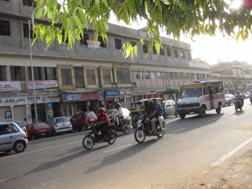 Shops: M.I.Road Jaipur (Left side)