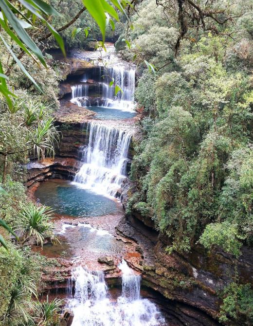 Wei Sawdong Falls, Chirapunji
