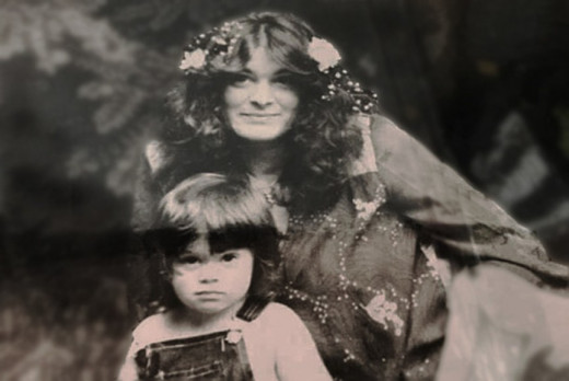 Dorothy Jane Scott with her son Shawn before her death in May 1980.