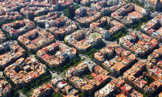 Barcelona's famous Superblocks