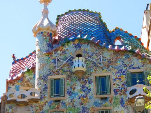 A Classic Gaudí Design—Casa Batlló
