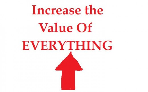 When something is appreciated, its value increases!