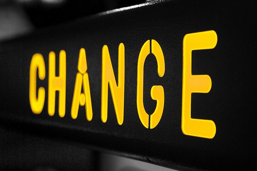 People instinctively fear change