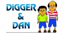 Digger and Dan - sportsmen extraordinaire