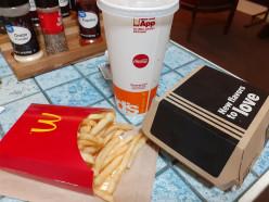 McDonald's BBQ Bacon Burger