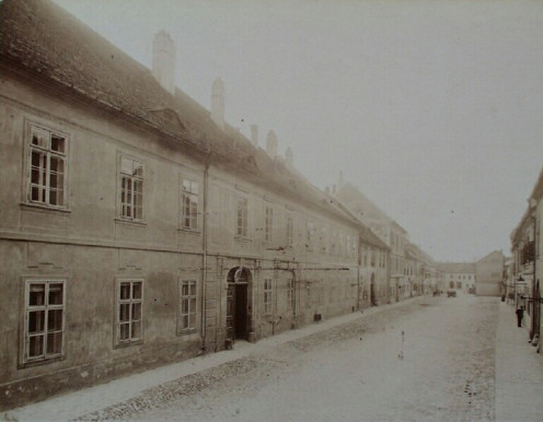 The Fortuna street in 1890's