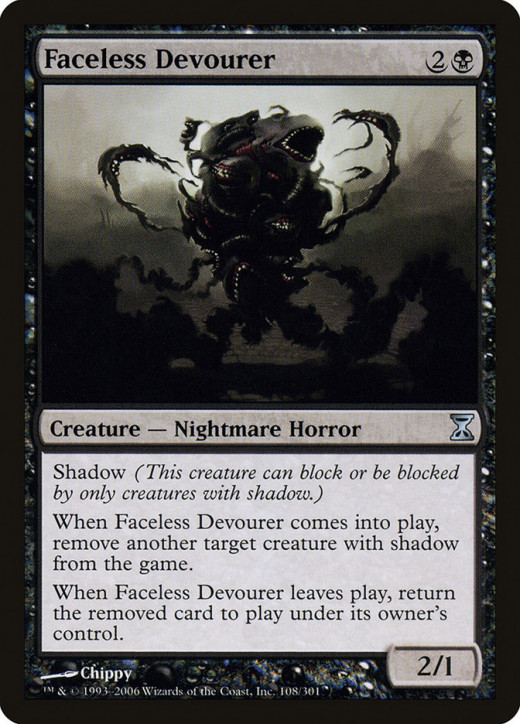 Faceless Devourer mtg