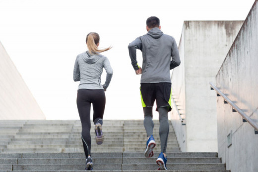 Running is a great way to boost health