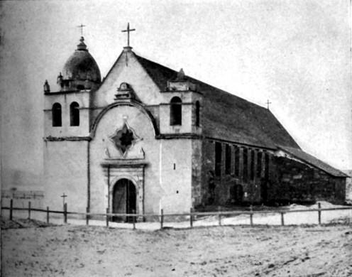 Mission San Carlos in 1913.