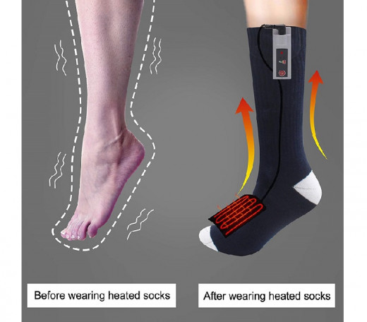 Feet and hand warmers can be useful on outdoor vacations and camping holidays.