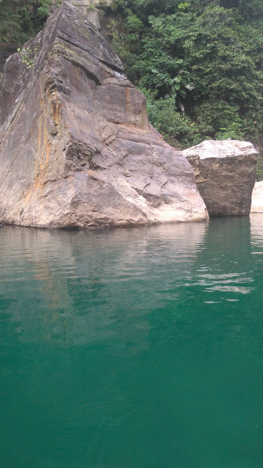 Umngot river at  Dawki