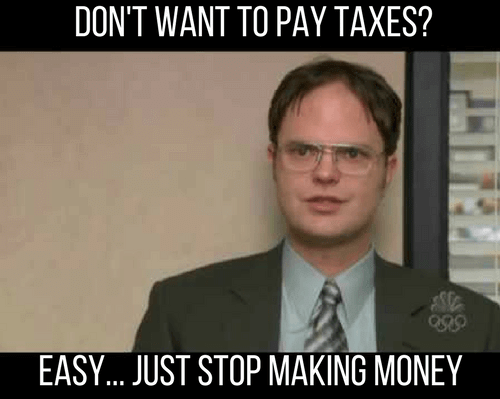 One cool trick to avoid paying income taxes that anyone can do!