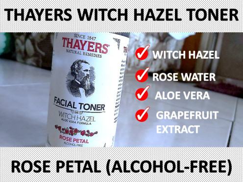 Thayers Alcohol-Free Witch Hazel Toner - Rose Petal