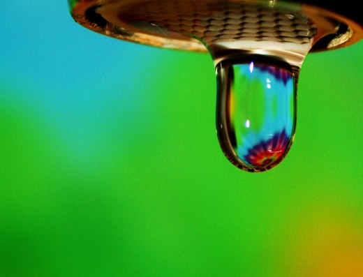 Water Droplet by D Sharon Pruitt via Flickr.