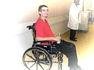 Jared at TBI Hospital (Traumatic Head Injury Trauma Center