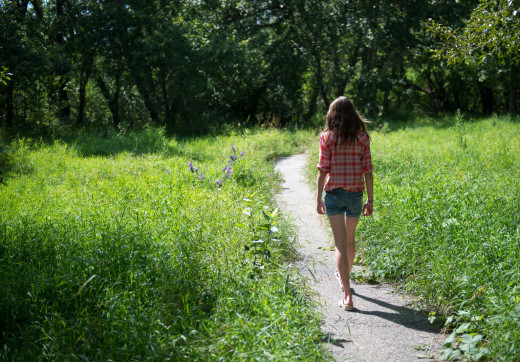 Find a new path once the heartache subsides a little bit. It'll help a lot.
